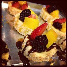 Made for Erik's birthday...   Mini Cheesecake Bites Recipe - Food.com - 337968