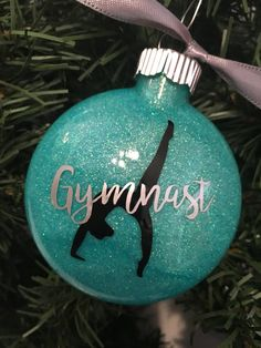 Gymnast Gymnastics Christmas Ornament