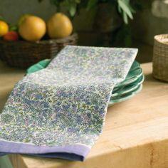 Couleur Nature Lavender Purple Green Tea Towel | Wayfair