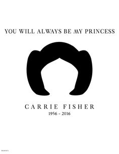 15+ Touching Tributes To Late Carrie Fisher By Artists Around The World