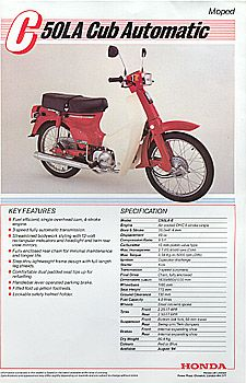 honda c50 c70 and c90 repair manual for 1967 thru 2003 excluding rh pinterest com Honda Cub 70Cc Honda Cub 50