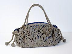 Outstanding Crochet: New project. Crochet Doily Purse. Pattern.