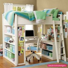 The Good Picture Styles Of Excellent Loft Beds With Desk For Girls - http://www.bedroomdesignz.com/bedroom-design/the-good-picture-styles-of-excellent-loft-beds-with-desk-for-girls.html