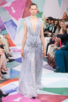 Fall Couture Collection of Schiaparelli.