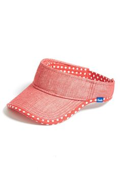 Women s Keds Chambray Visor - Red 98c55047730c