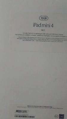 #computer Apple iPad mini 4 16GB, Wi-Fi, 7.9in - Silver please retweet
