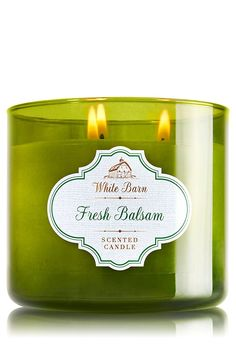 Bath and Body White Barn Fresh Balsam 3 Wick Candle 14.5 Oz *** To view further for this item, visit the image link.