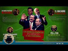 Los Narco-Políticos en México y sus fortunas