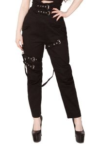Necessary Evil - High Waist Bondage Hose - Ares Trousers
