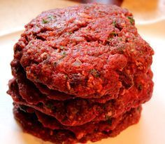 The Best Venison Burger Around. yum! making this tonight!