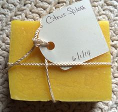 Soap - Citrus Splash Bar