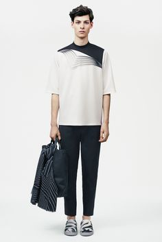 ARTSY PRINTS Christopher Kane Spring 2015 Menswear - Collection - Gallery - Style.com