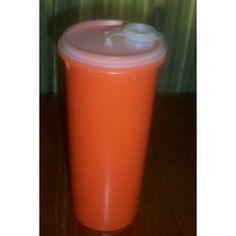 Discontinued Tupperware | Amazon.com: Vintage Tupperware Orange Slimline Pitcher with Flip Top ...