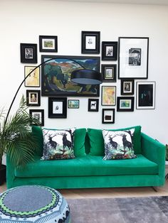 French For Pineapple Blog - Living Etc House Tours with AO....... love this combination!