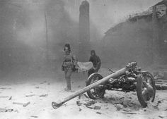 Stalingrad during WWII