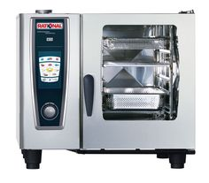 Rational SCC61P Propane Gas Self Cooking Centre Combination Oven with Whitefficiency - CG373-P