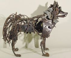 """Learn more relevant information on """"metal tree art scrap"""". Browse through our web site. Wolf Sculpture, Metal Art Sculpture, Animal Sculptures, Welded Art, Metal Tree Wall Art, Scrap Metal Art, Plastic Art, Junk Art, Art Archive"""