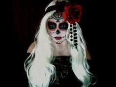 Halloween Makeup Tutorial - Day of the Dead makeup tutorial    #DayOfTheDead #DiaDeLosMuertos #HalloweenMakeup