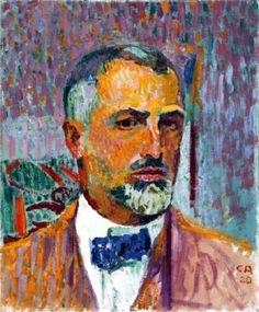 Cuno Amiet (Swiss), self portrait