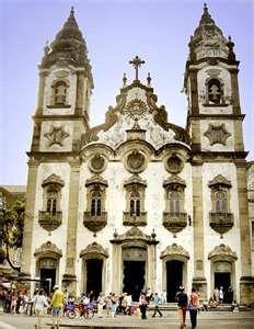 Church of Saint Anthony of Carmo Catholic Church, Recife, Brazil