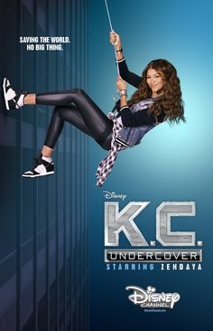This is the newest edition to Disney Channel! This show is KC Undercover starring the main diva Zendaya! Such a cool show!