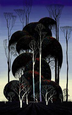 "Still More Eyvind Earle Concept Art from ""Sleeping Beauty"""