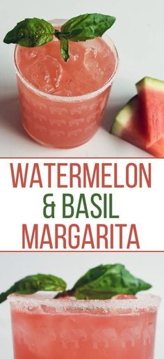 & Basil Margarita [RECIPE] Nothing says summer quite like a Watermelon & Basil Margarita. Get our delicious, refreshing recipe now!Nothing says summer quite like a Watermelon & Basil Margarita. Get our delicious, refreshing recipe now! Refreshing Drinks, Yummy Drinks, Healthy Drinks, Nutrition Drinks, Healthy Food, Healthy Recipes, Bariatric Recipes, Dinner Healthy, Healthy Life