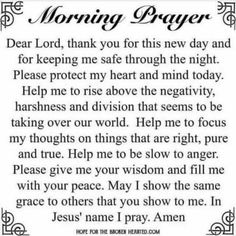 10 sunday prayer quotes and sayings for the day. Sunday Prayer, Good Morning Prayer, Prayer For Today, Morning Prayers, Morning Prayer Catholic, Morning Prayer Christian, Christian Prayers, Morning Prayer For Family, Powerful Morning Prayer