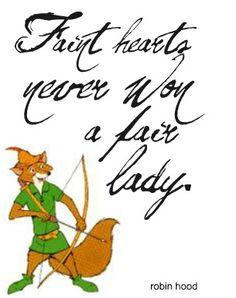 Robin Hood <3 My favorite movie as a kid!