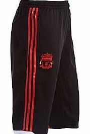Training Wear Adidas 2010-11 Liverpool Adidas 3/4 Length Training Official 2010-11 Liverpool 3/4 Length Training Pants (Black) available to buy online. This official Liverpool merchandise is manufactured by Adidas and is available to order in adult sizes S M L X www.comparestorep...