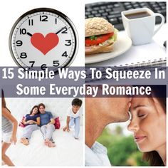 15 Simple Ways To Squeeze In Some Everyday Romance