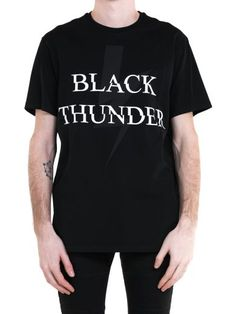 NEIL BARRETT Neil Barrett Thunder Lightening Tee. #neilbarrett #cloth #https: