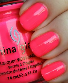 This is my current color: Flip Flop Fantasy by China Glaze... thanks KPark! <3