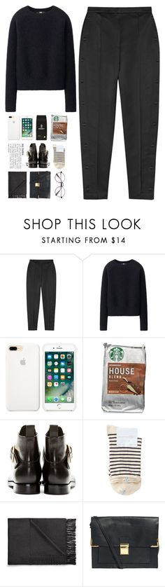 """""""5958"""" by tiffanyelinor ❤ liked on Polyvore featuring Alexander Wang, Uniqlo, GRINDERS, Hansel from Basel, Acne Studios and ASOS"""