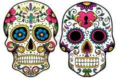 Sugar Skull Makeup for Halloween - Want to pull off the perfect Halloween look? Take inspiration from our Mexican sugar skull makeup ideas and rock a truly original Halloween makeup look.