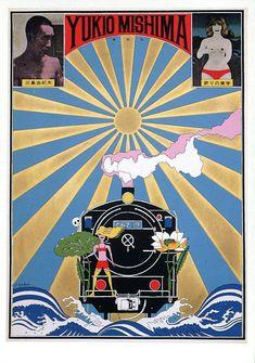 Tadanori Yokoo (Japanese, born Title: Yukio Mishima, the aesthetics of end , 1966 Medium: poster Size: x in. Collages, Andy Warhol Films, Tadanori Yokoo, Pop Art, James Rosenquist, Poster Boys, Kunst Poster, Japanese Graphic Design, Jasper Johns