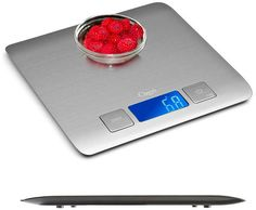 nice Zenith Digital Kitchen Scale by Ozeri, in Refined Stainless Steel with Fingerprint Resistant Coating - Kitchen Hacks Kitchen Hacks, Kitchen Gadgets, Kitchen Ideas, Digital Kitchen Scales, Food Scale, Digital Scale, Amazon Deals, Amazon Price, Kitchen Equipment