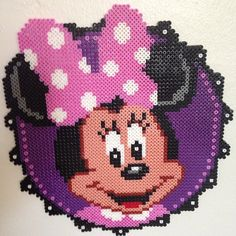 Minnie Mouse hama perler by btg2201