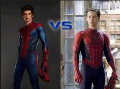 Spiderman Andrew Garfield vs Tobey Maguire