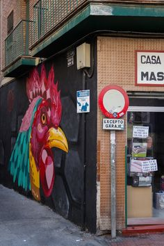 Just 48 hours in Malaga? Don't miss seeing the urban street art in the Soho neighborhood!
