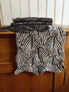 Ravelry: Flying Fish Scarf pattern by Nancy Marchant