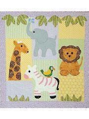 Safari Chums Quilt Pattern