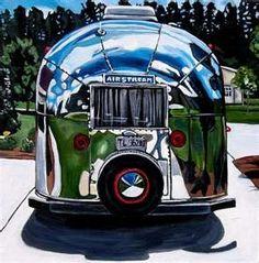 1964 Airstream Bambi My dream camper! Airstream Bambi, Airstream Travel Trailers, Camper Caravan, Vintage Airstream, Vintage Caravans, Vintage Travel Trailers, Camper Trailers, Airstream Interior, Airstream Motorhome