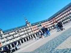 """0 Me gusta, 1 comentarios - JSBenavides   #DiseñaTuMapa (@jsbenavides_) en Instagram: """"Plaza Mayor de #Madrid en una tarde llena de ideas. Seguimos avanzando 😁😁😁 #plazamayor #feliztarde…"""""""
