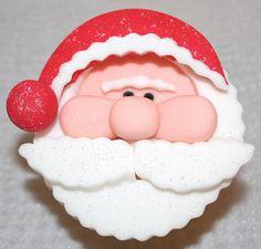 @KatieSheaDesign  ❥ ♡❤♥  #Christmas #Cupcakes ❤♡♥  santa cupcake
