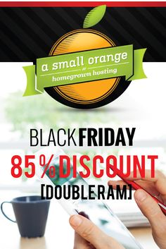 85% discount on hosting this year. #hosting #blackfriday #deal