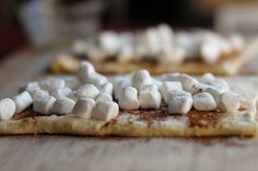 Toasted marshmallow cinnamon rolls...U have got to be kidding me!Nummers!