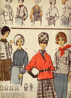 Swinging London, Fashion Illustration Sketches, Fashion History, Vintage Patterns, Fashion Beauty, Costumes, Comics, Retro, Ol