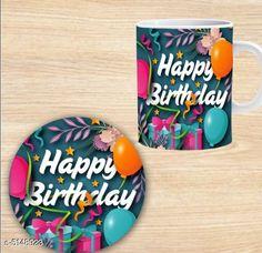 Accessories Elegant Printed Ceramic Coffee Mug   *Material* Mug - Ceramic, Coaster - MDF  *Capacity* Mug - 350 ml, Coaster - 9 cm  *Description* It Has 1 Piece Of Mug With 1 Piece Of Coaster  *Work* Printed  *Sizes Available* Free Size *   Catalog Rating: ★4.3 (1301)  Catalog Name: Beautiful Elegant Printed Ceramic Coffee Mugs With Coaster CatalogID_759969 C127-SC1621 Code: 581-5148923-