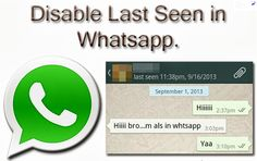 How to Hide WhatsApp last seen On Android Phone, Windows Phone - http://supplysystems.com/2014/05/01/how-to-hide-whatsapp-last-seen/